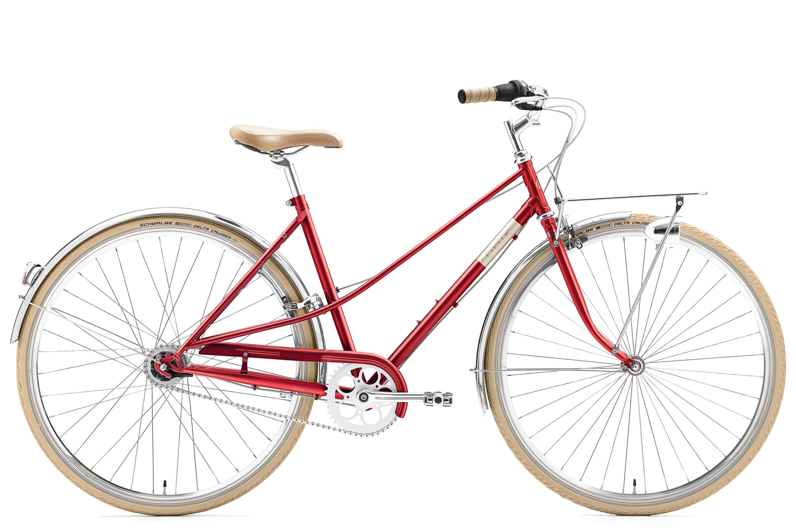 Creme Caferacer Solo Red Lady 7-Speed