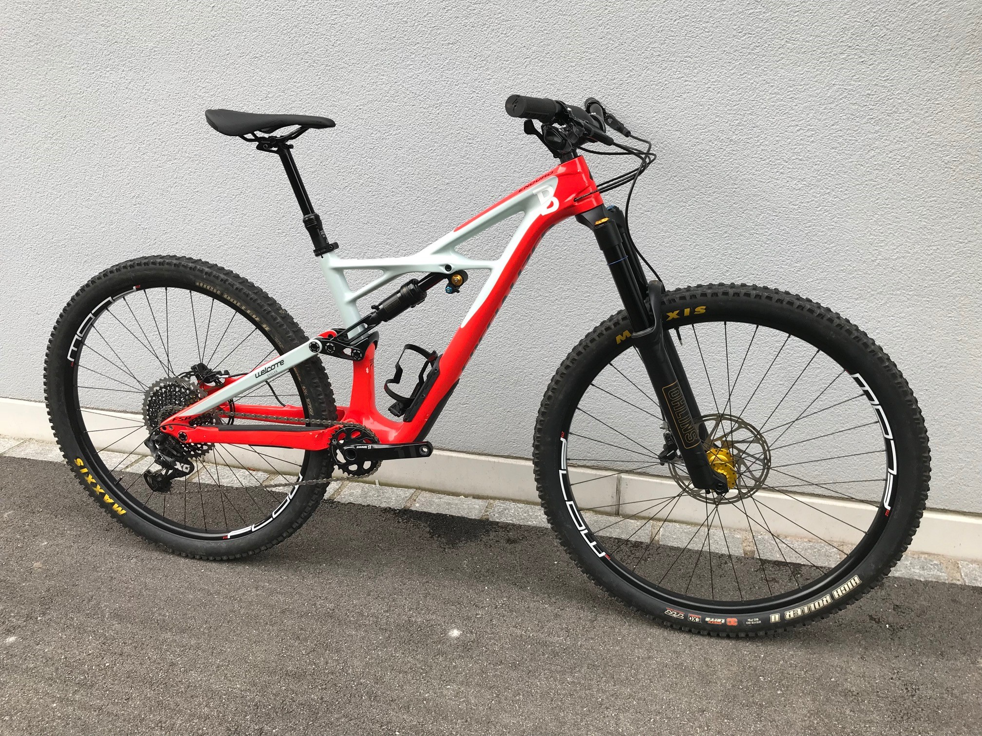 Occ. 2017 Specialized Enduro FSR Pro Carbon 29